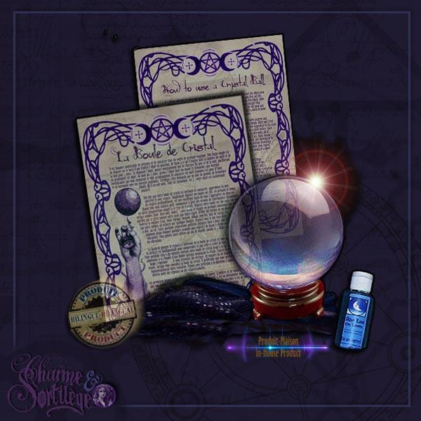 Divination - CRYSTAL BALL KIT